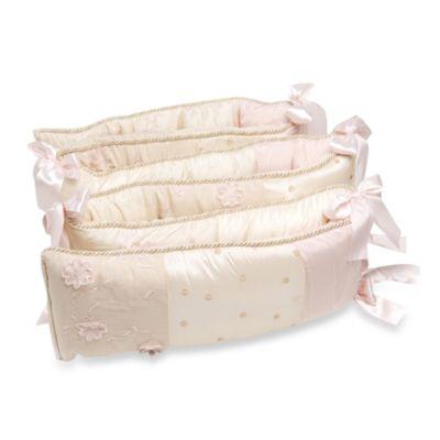 glenna jean ava crib bedding collection u003e glenna jean ava crib bumper