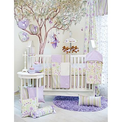 glenna jean viola 3piece crib bedding set