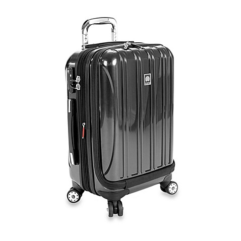 buy delsey helium aero 19 inch carry on spinner in blue from bed bath beyond. Black Bedroom Furniture Sets. Home Design Ideas