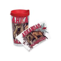 Tervis® Guy Harvey Arkansas Razorbacks 16 oz. Wrap Tumbler with Red Lid