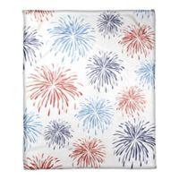 Fireworks Pattern 50x60 Throw Blanket