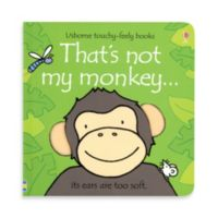 Usborne That's Not My Monkey Touchy-Feely Board Book
