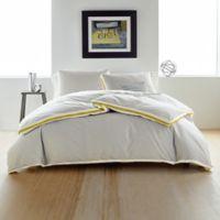 DKNY Sport Stripe King Comforter Set in Silver