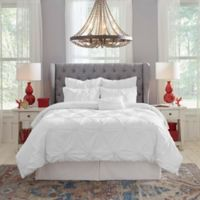 Pointehaven 200-Thread-Count Twin Comforter Set in White