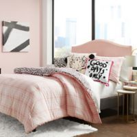 Betsey Johnson® Betseys Plaid Twin/Twin XL Comforter Set in Pink