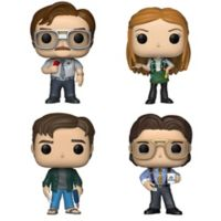 Funko POP! Office Space 4-Pack Collectible Figurine Set