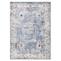 Jaipur Living Nashira 5'3 x 7'6 Area Rug in Blue/White
