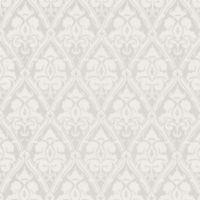 Echo Design™ Damask Wallpaper Sample in Silver