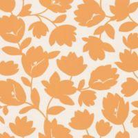 Echo Design™ Freesia Wallpaper Sample in Orange