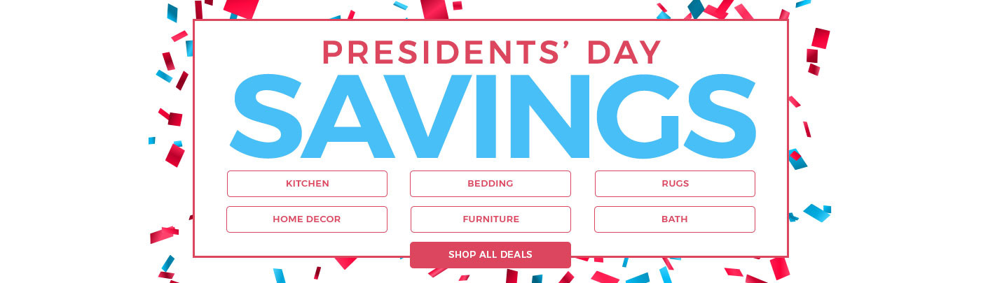 Presidents' Day Savings!