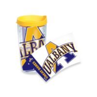 Tervis® University of Albany Great Danes 16-Ounce Wrap Tumbler with Yellow Lid