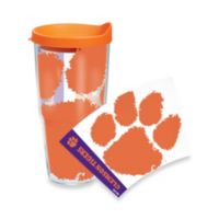 Tervis® Clemson Tigers 24-Ounce Wrap Tumbler with Orange Lid