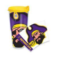 Tervis® East Carolina University Pirates 24 oz. Wrap Tumbler with Yellow Lid