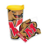 Tervis® University of Maryland Terrapins 24-Ounce Wrap Tumbler with Yellow Lid