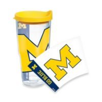 Tervis® University of Michigan 24-Ounce Wrap Tumbler with Yellow Lid