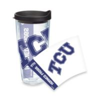 Tervis® TCU Horned Frogs 24-Ounce Wrap Tumbler with Black Lid