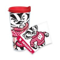 Tervis® University of Wisconsin Badgers 24-Ounce Wrap Tumbler with Red Lid