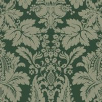 Echo Design™ Modern Damask Wallpaper Sample in Green
