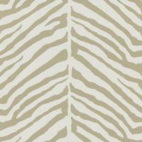 Echo Design™ Zebra Stripes Wallpaper Sample in Taupe