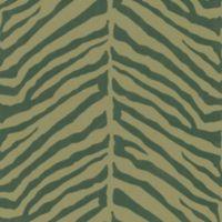 Echo Design™ Zebra Stripes Wallpaper Sample in Brown
