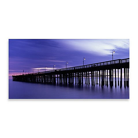 Purple Pier Wall Art