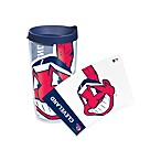 Tervis® Cleveland Indians 16-Ounce Wrap Tumbler with Blue Lid