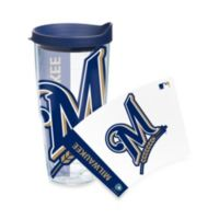 Tervis® MLB Milwaukee Brewers 24 oz. Colossal Wrap Tumbler with Lid