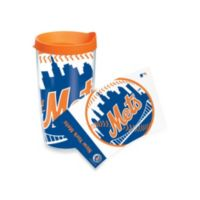 Tervis® New York Mets 16-Ounce Colossal Wrap Tumbler with Orange Lid