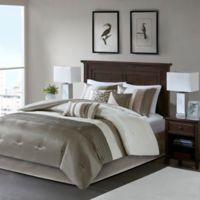 Madison Park Amherst 7-Piece California King Comforter Set in Ivory/Beige