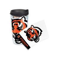 Tervis® Cincinnati Bengals 16-Ounce Wrap Tumbler with Black Lid