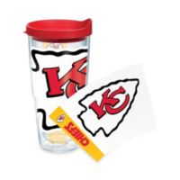 Tervis® Kansas City Chiefs 24-Ounce Wrap Tumbler with Red Lid