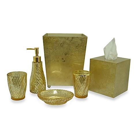 Mercury wastebasket bath accessory bed bath beyond for Bath accessories sale
