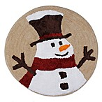 Heartland Snowman Throw Rug
