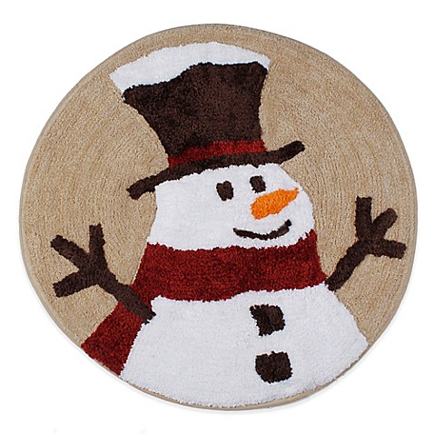 Heartland Snowman Throw Rug Bed Bath Amp Beyond
