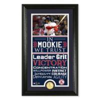 MLB Boston Red Sox Mookie Betts Trust Supreme Bronze Photo Mint