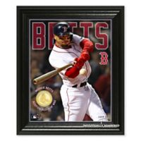 MLB Boston Red Sox Mookie Betts Elite Series Bronze Photo Mint