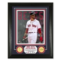 MLB Boston Red Sox Mookie Betts Bronze Coin Photo Mint