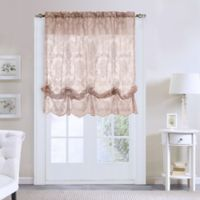 Commonwealth Home Fashions Columbus Balloon 63-Inch Length Tie-Up Shade in Pink
