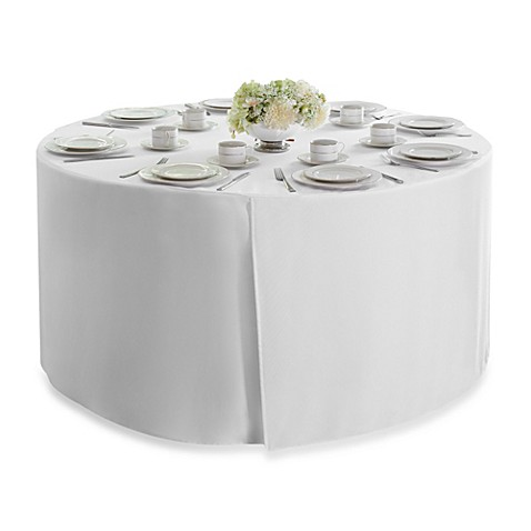 round 60 inch folding table tablecloth bed bath beyond. Black Bedroom Furniture Sets. Home Design Ideas