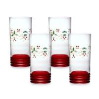 Pfaltzgraff® Winterberry Cooler Glasses (Set of 4)