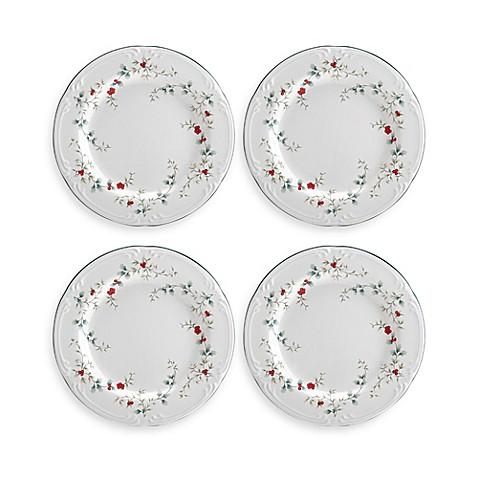 Pfaltzgraff® Winterberry Salad Plates (Set of 4)  sc 1 st  Bed Bath \u0026 Beyond & Pfaltzgraff® Winterberry Salad Plates (Set of 4) - Bed Bath \u0026 Beyond