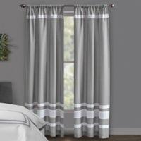 Wamsutta® Hotel 84-Inch Rod Pocket/BackTab Blackout Window Curtain Panel in Grey