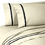 Waterford® Linens Kiley Queen Sheet Set in Ivory