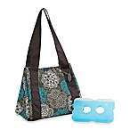 Medport® Venice Designer Lunch Bag with Ice Pack in Teal