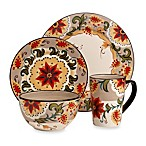 Tabletops Unlimited® Odessa 4-Piece Round Place Setting