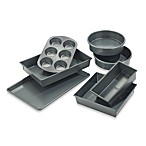 Chicago Metallic™ Professional 7-Piece Nonstick Bakeware Set with Armor-Glide