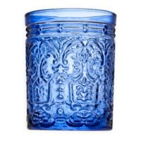 Godinger® Jax Double Old Fashioned Glasses in Blue (Set of 4)