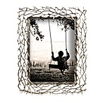 "Prinz Whitman Silver Metal Branch 8"" x 10"" Frame"