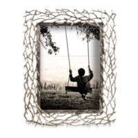 """Prinz Whitman Silver Metal Branch 8"""" x 10"""" Frame"""