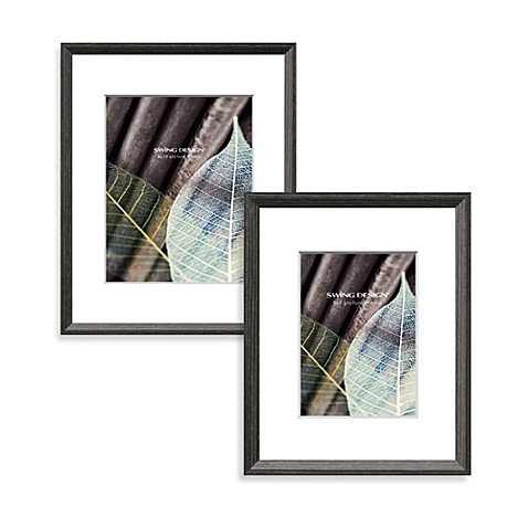 Swing Design™ Wall Frames in Charcoal Grey - Bed Bath & Beyond